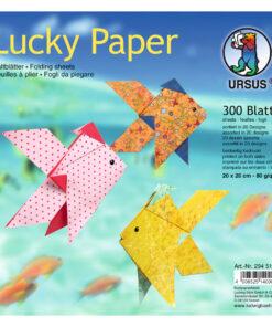 Ursus Faltblätter Lucky Paper, 20 x 20 cm