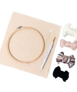 Material-Set Punch needle 8 teilig für die Sticktechnik