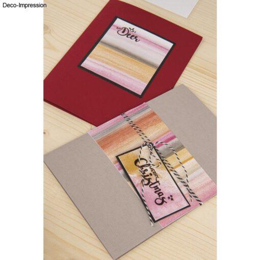 Dekoidee 1, Clear Stamps Rentierfreunde