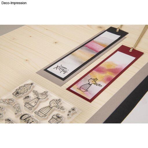 Dekoidee 2, Clear Stamps Rentierfreunde