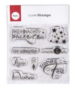 Rayher Clear Stamp Motivbogen