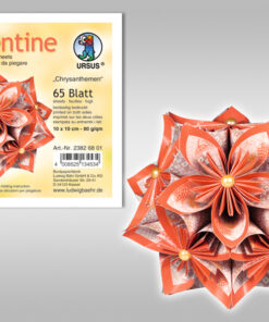 Ursus Faltblätter Florentine Chrysanthemen