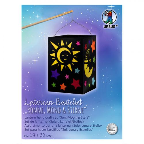 Ursus Laternenbastelset Sonne, Mond & Sterne