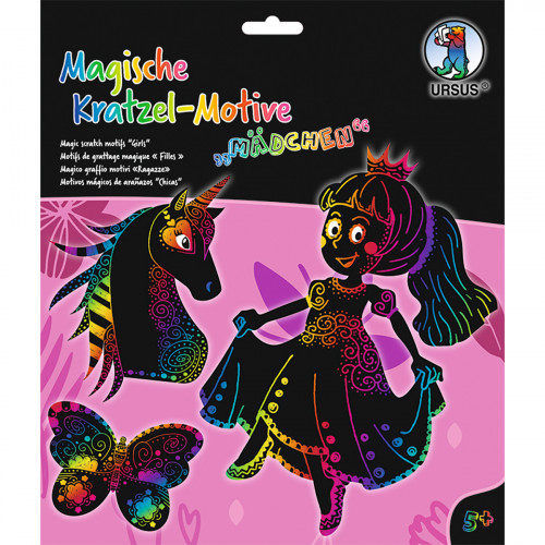 Ursus Magische Kratzel-Bilder Mädchen