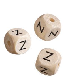 Holz-Buchstabenwürfel Z